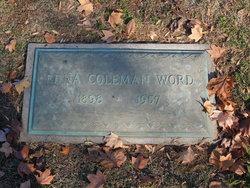 Edna <I>Coleman</I> Word