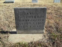 David J Petersheim