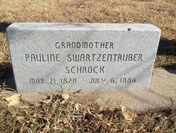 Pauline <I>Swartzentruber</I> Schrock