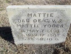 Mattie Yoder