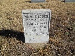 Merle Yoder