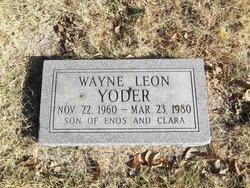 Wayne Leon Yoder