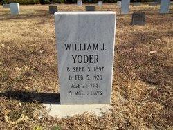 William J Yoder