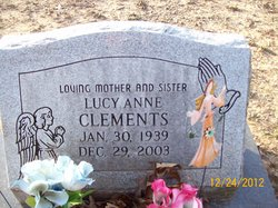 Lucy Anne <I>Sager</I> Clements