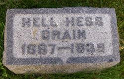 """Eleanor """"Nell"""" <I>Hess</I> Crain"""