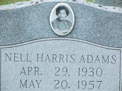 Nell Harris Adams