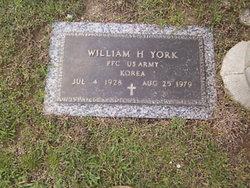 William Hobert York