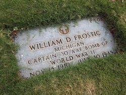 Capt William D Frostic