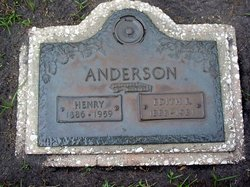 Edith E. <I>Evison</I> Anderson