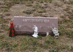 Letha L. <I>Snapp</I> Applegate