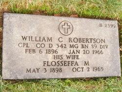 Flosseffa M <I>Cooper</I> Robertson