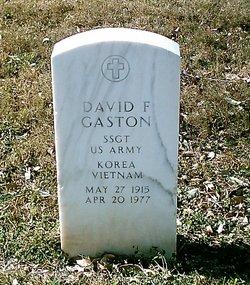 David Finis Gaston, IV