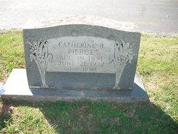 Catherine <I>Buckles</I> Pierce