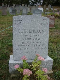 Milton Meyer Boksenbaum