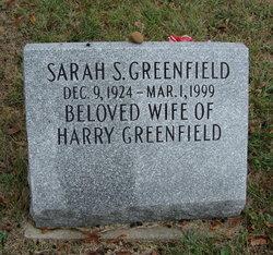 Sarah S Greenfield