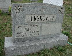Ella Herskovitz