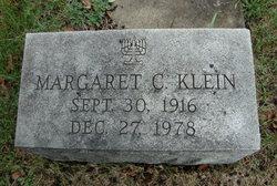 Margaret C Klein