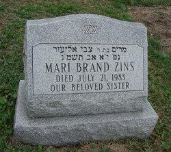 Mari <I>Brand</I> Zins