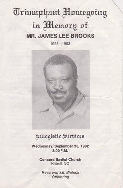 Deacon James Lee Brooks