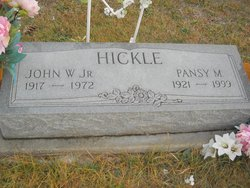Pansy M. <I>Buttz</I> Hickle