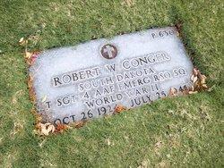 Sgt Robert W Conger