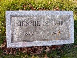 Jennie N. <I>Wolf</I> Fair