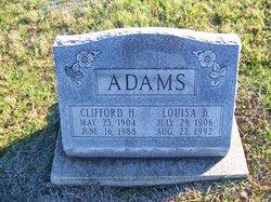 Louisa <I>Brown</I> Adams