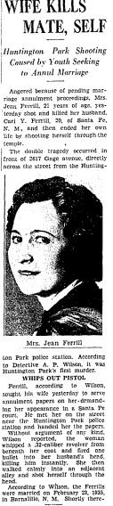 Helen Jean <I>Armstrong</I> Ferrill