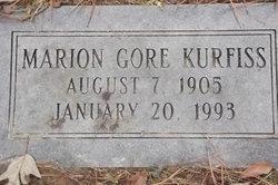 Marion <I>Gore</I> Kurfiss