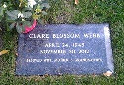 Clare Mangus <I>Blossom</I> Webb