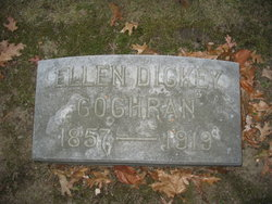 Ellen <I>Dickey</I> Cochran