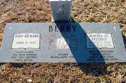 Martha Jo <I>Freeman</I> Berry