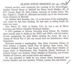 Glenn Arvid Madden