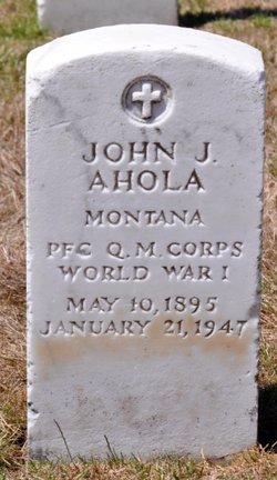 John J Ahola