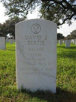 David J Bertie