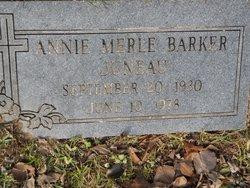 Annie Merle <I>Barker</I> Juneau