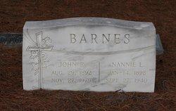 Nannie L. <I>Hinnant</I> Barnes