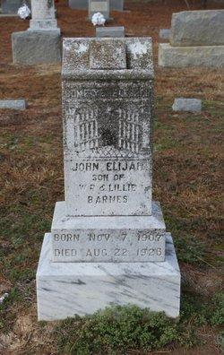 John Elijah Barnes