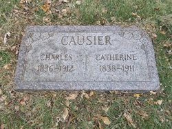 Catherine <I>Hughes</I> Causier