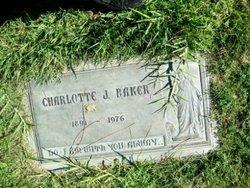 Charlotte J Baker