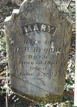 Mary <I>Bradshaw</I> Bryant