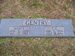 Nancy <I>Evans</I> Gentry