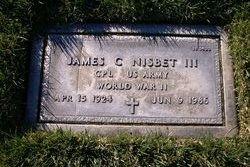 James C Nisbet, Jr