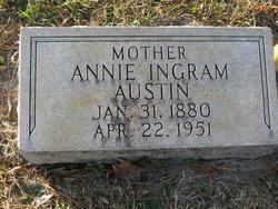 Annie <I>Ingram</I> Austin