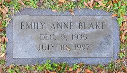 Emily Anne <I>Gilbert</I> Blake