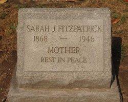 Sarah Frances <I>Johnston</I> Fitzpatrick