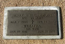 PFC Henry Albert Gammons