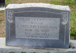 Ida Susan <I>Swift</I> Chrismon