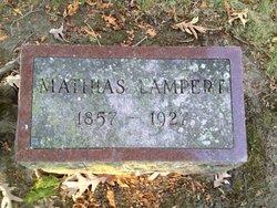 """Mathias """"Matt"""" Lampert"""