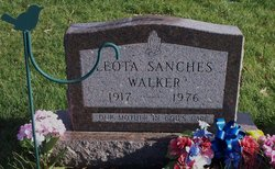Leota <I>Sanches</I> Walker